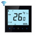 BHT-1000-GA-WIFI 3A Load Water Heating Type Touch LCD Digital WiFi Heating Room Thermostat, Display Clock / Temperature / Period