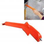 Auto Car Multi-fuctional Card Lifter And Safty Hammer for Parking and Emergency(Orange)