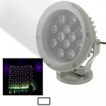 12W / 960LM High Quality Die-cast Aluminum Material Day White Light LED Floodlight Lamp