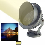 3W / 240LM High Quality Die-cast Aluminum Material Warm White Light LED Floodlight Lamp
