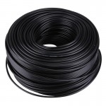 RF Coaxial Cable (75-5), Length: 180m(Black)