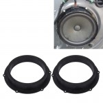 2 PCS Car Auto ABS Loudspeaker Base Protection Cover Holder Mat for Volkswagen
