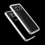 For Samsung Galaxy S8 + / G9550 Electroplating Frame Soft TPU Protective Case(Silver)