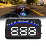 Geyiren M6 HUD 3.0 inch Car Head Up Display with OBDII & EUOBD System, Speed & Over Speed Alarm, RPM, Water Temperature & High