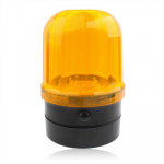 6-LED Flash Strobe Warning Light for Auto Car with Strong Magnetic Base (Yellow + Black)