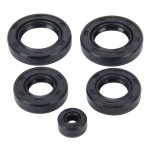 5 PCS Motorcycle Rubber Engine Oil Seal Kit for CG-125