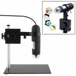 1.3 Mega Pixels 1000X USB Digital Microscope with 8 LED Lights / Holder