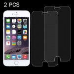 2 PCS For iPhone 7 Plus 0.26mm 9H Surface Hardness 2.5D Explosion-proof Tempered Glass Non-full Screen Film