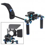 YELANGU YLG0102H Dual Handles Free Camera Shoulder Mount Kit