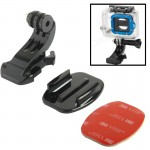 ST-57 J-Hook Buckle Mount + 3M Sticker + Flat Surface for GoPro HERO4 / 3+ / 3 / 2 / 1