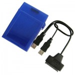 USB 2.0 To Serial ATA HDD Converter & 2.5 inch HDD Store Tank