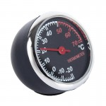 Portable Thermometer Mini Plastic Round Pointer Temperature Decorative Sensor Tools