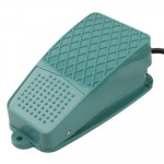 TFS-105 AC 250V 10A Anti-slip Metal Case Foot Control Pedal Switch, Cable Length: 90cm
