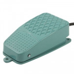 TFS-2 AC 250V 10A Anti-slip Metal Case Foot Control Pedal Switch, Cable Length: 90cm