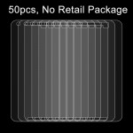 50 PCS for Google Nexus 6P 0.26mm 9H Surface Hardness 2.5D Explosion-proof Tempered Glass Film, No Retail Package