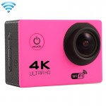 F60 2.0 inch Screen 4K 170 Degrees Wide Angle WiFi Sport Action Camera Camcorder with Waterproof Housing Case, Support 64GB Micr