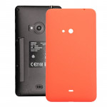 iPartsBuy for Nokia Lumia 625 Original Housing Battery Back Cover with Side Button(Orange)