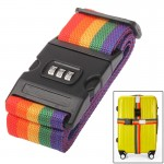 Adjustable Packing Band Belt Strap with Password Lock for Luggage Baggage