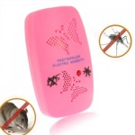 Ultrasonic Electronics Insecticide with Two Steps of Adjustable, Pink (US Plug)