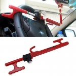 Car Auto Tempered Steel Anti-theft Steering Wheel Lock with Keys for Trucks Van SUV