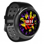 Z10 400*400 Pixel AMOLED 1.39 Inch Round Touch Screen Display Smart Watch, IP54 Waterproof, Support Pedometer / Heart Rate Monit