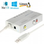 Mine Vcap 2900 USB Video Capture Box, Plug and Play, Compatible with Android / Mac OS / Linux / Windows Operate System