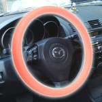 Silicone Rubber Car Steering Wheel Cover, Outside Diameter: 36cm