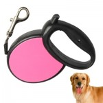 Easy Operation Retractable Flexible Dog Leash(Magenta)