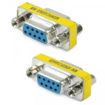 Serial RS232 DB9 9 Pin Female to Female Adapter Converter