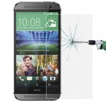 For HTC One M9 0.26mm 9H+ Surface Hardness 2.5D Explosion-proof Tempered Glass Film