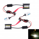 DC12V 35W 2x H1 Slim HID Xenon Light, High Intensity Discharge Lamp, Color Temperature: 6000K