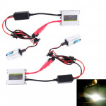 DC12V 35W 2x H4 Slim HID Xenon Light, High Intensity Discharge Lamp, Color Temperature: 8000K