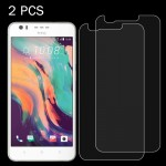 2 PCS For HTC Desire 10 Lifestyle 0.26mm 9H Surface Hardness 2.5D Explosion-proof Tempered Glass Screen Film