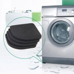 4 PCS Shockproof and Anti-slip Pad Mute Cotton for Washing Machine