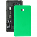 For Nokia X Original Plastic Battery Back Cover + Side Button(Green)
