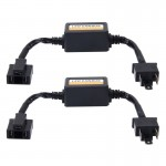 2 PCS H4 Car Auto LED Headlight Canbus Warning Error-free Decoder Adapter for DC 9-36V/20W-40W