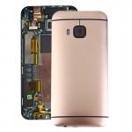 iPartsBuy for HTC One M9 Back Housing Cover(Gold)