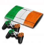 Cote D lvoir Flag Pattern Decal Stickers for PS3 Game Console