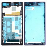 iPartsBuy Front Housing LCD Frame Bezel Plate Replacement for Sony Xperia Z1 / C6902 / L39h / C6903 / C6906 / C6943(Purple)
