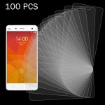 100 PCS Xiaomi Mi 4 0.26mm 9H Surface Hardness 2.5D Explosion-proof Tempered Glass Screen Film