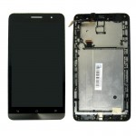 iPartsBuy LCD Screen + Touch Screen Digitizer Assembly with Frame for Asus Zenfone 6 / A600CG(Black)