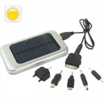 3500mAh Solar Energy Charger for iPhone / iPad / iPod Touch, MP3 / MP4, Digital Camera and other Mobile Phone (Silver)