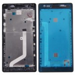iPartsBuy Xiaomi Redmi (4G Version) Front Housing LCD Frame Bezel(Black)