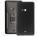 iPartsBuy for Nokia Lumia 625 Original Housing Battery Back Cover with Side Button(Black)
