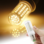 E27 Warm White 6W 72 LED SMD 2835 Corn Light Bulb, AC 220V