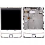 iPartsBuy for BlackBerry Passport Silver Edition LCD Screen + Touch Screen Digitizer Assembly with Frame