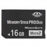 MARK2 16GB High Speed Memory Stick Pro Duo (100% Real Capacity)(Black)