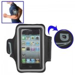 Sports Armband Case with Earphone Hole for iPhone 4 & 4S/ iPhone 4 (CDMA) / iPhone 3GS / iPod touch(Black)