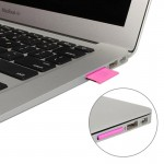 MiniDrive Micro SD/TF To SD Adapter Convert for MacBook Air/Pro, Support TF Card up to 64GB (Magenta)