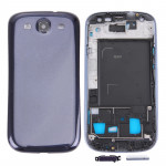 For Samsung Galaxy SIII / i9300 Original Full Housing Chassis(Dark Blue)